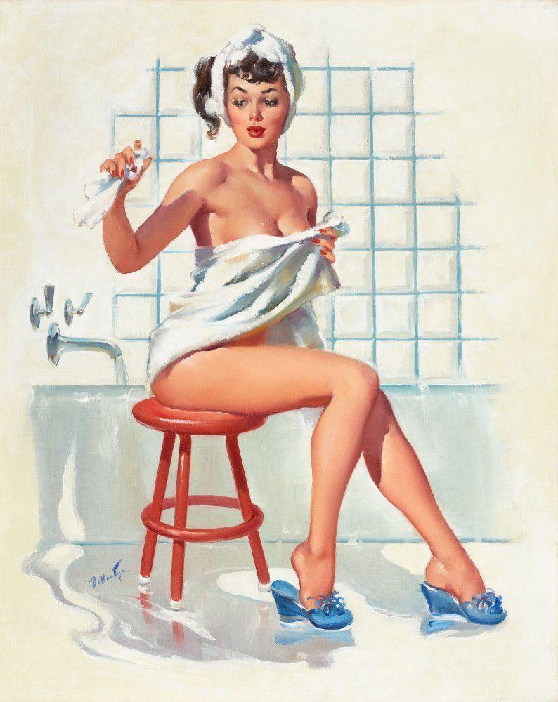 Ретро картинки в бане 19 фотография