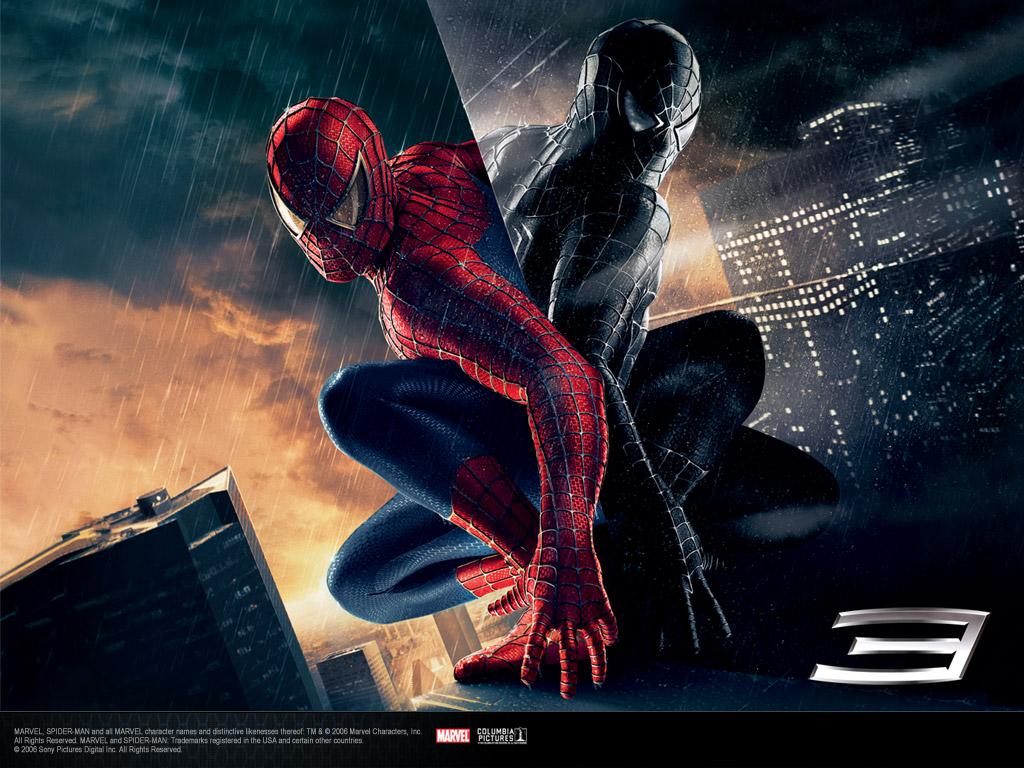 Обои и картинки 1024x768 259KB Человек-паук 3
