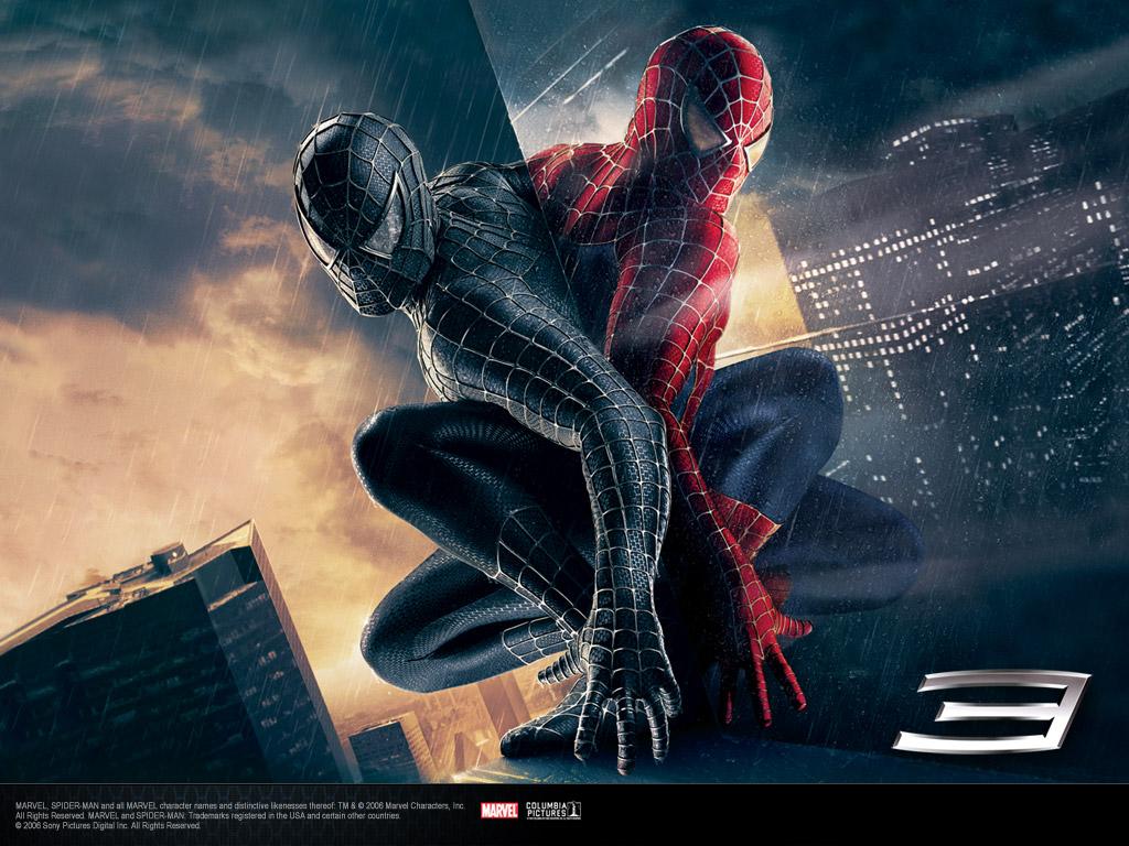 Обои и картинки 1024x768 250KB Человек-паук 3