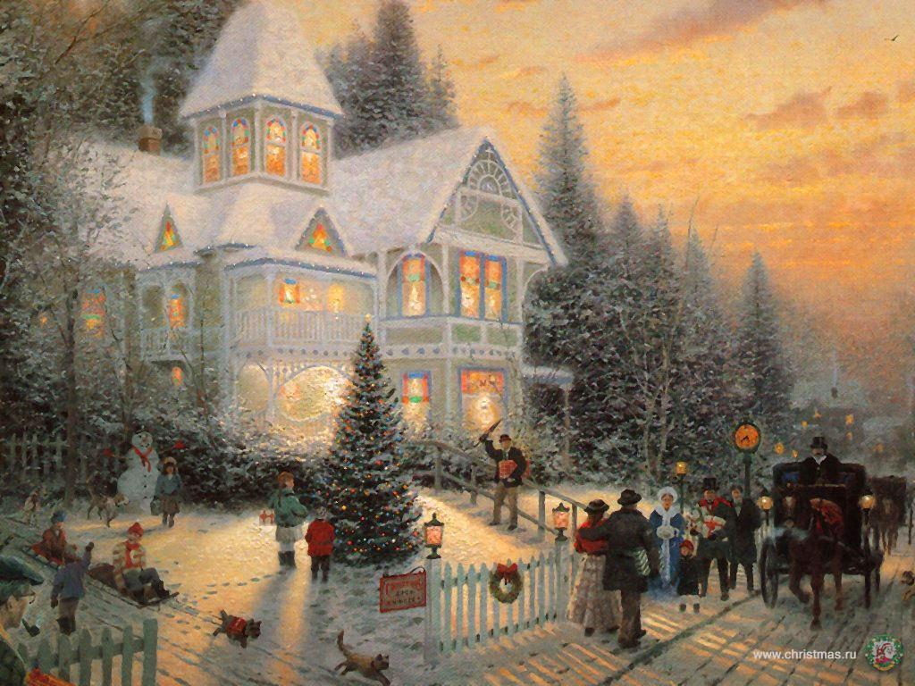 Рождество 1024x768 203KB Новый Год