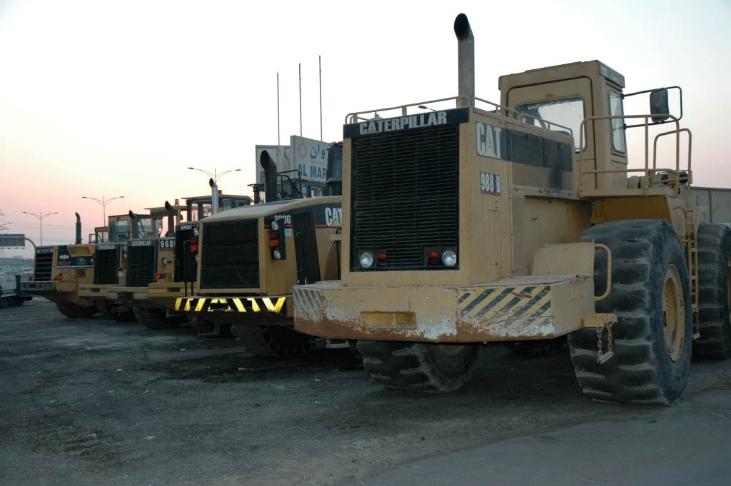 Экскаваторы Caterpillar 1024x681 67KB Тяжёлая техника